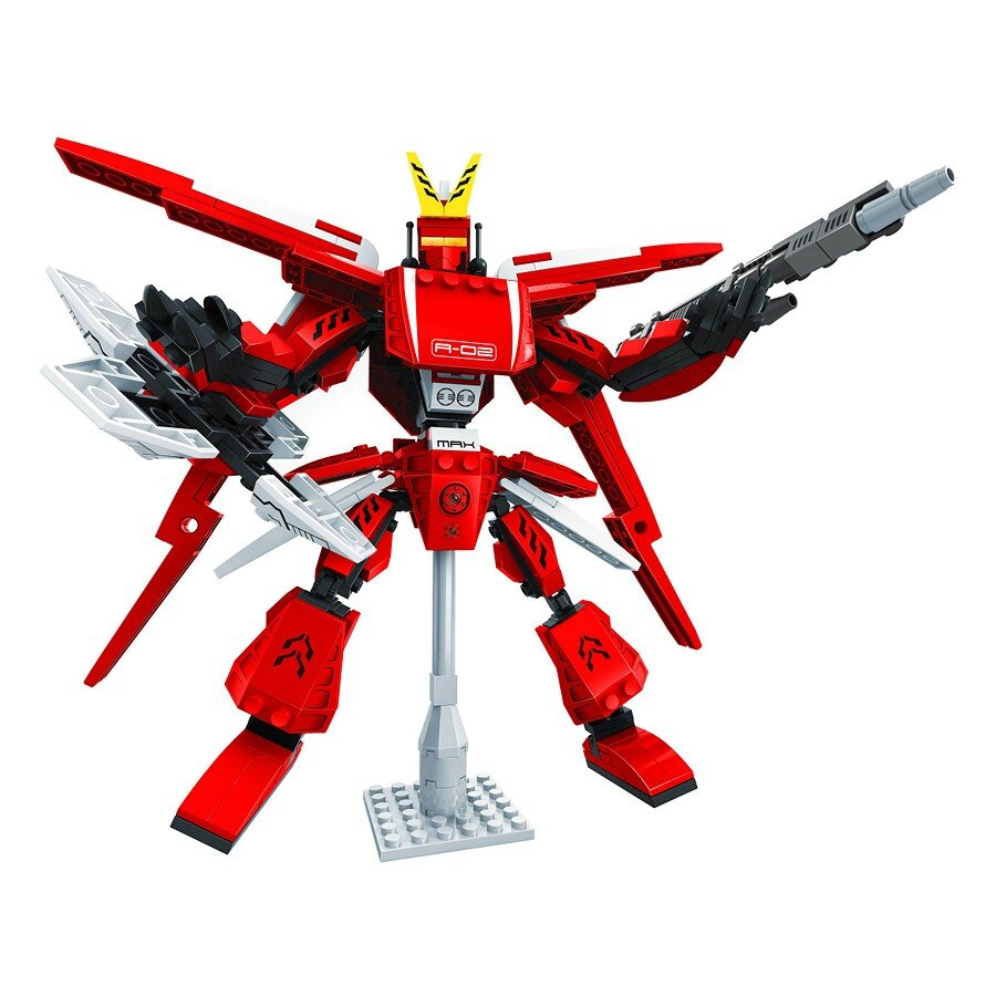 Đồ chơi lắp ráp Ausini - robot anh hùng - người máy giáp sắt 25662 (339 mảnh ghép)