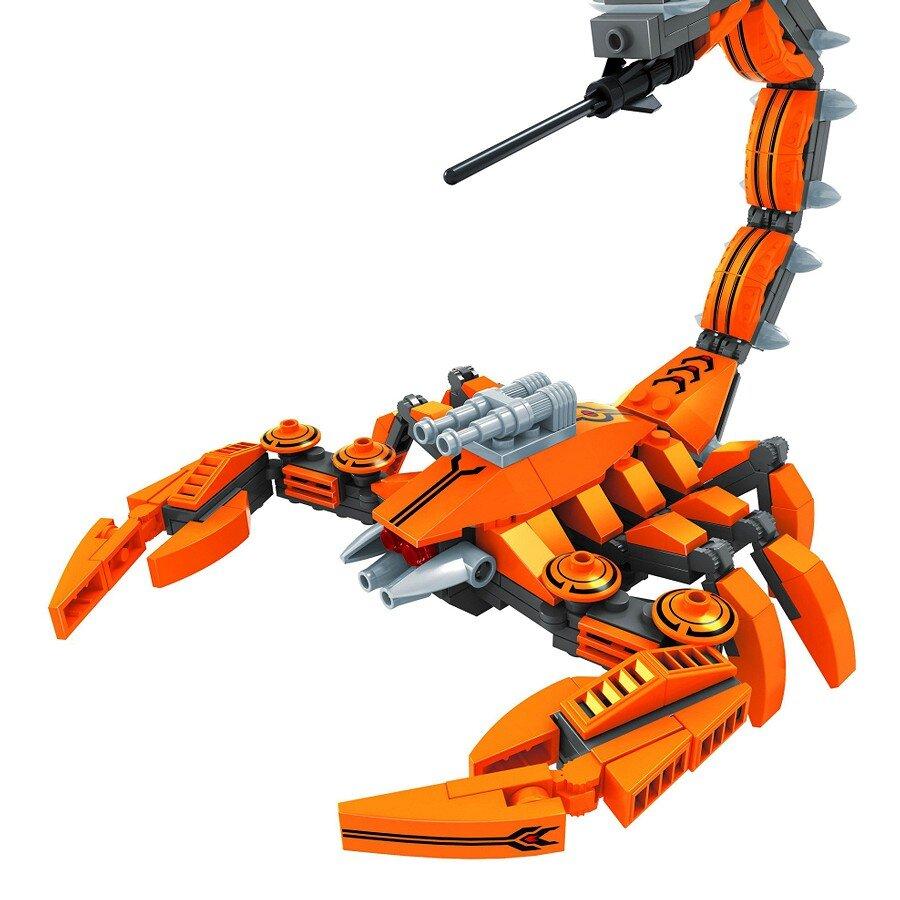 Đồ chơi lắp ráp Ausini - robot anh hùng - bò cạp giáp sắt 25565 (238 mảnh ghép)