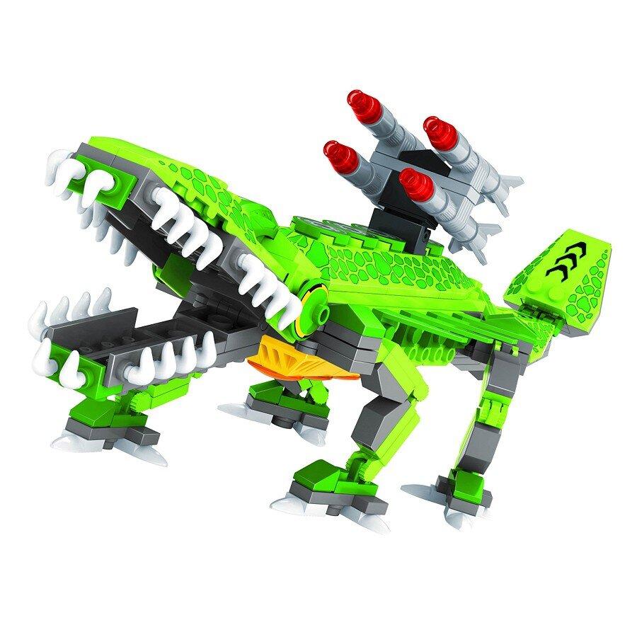 Đồ chơi lắp ráp Ausini - robot anh hùng - cá sấu giáp sắt 25564 (262 mảnh ghép)
