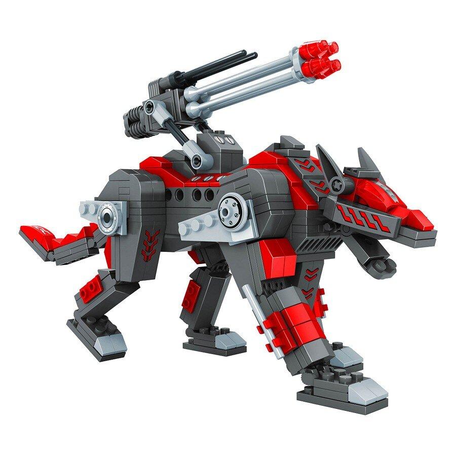 Đồ chơi lắp ráp Ausini - Robot anh hùng - Siêu thú giáp sắt 25663 (350 mảnh ghép)