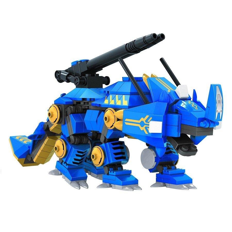 Đồ chơi lắp ráp Ausini - robot anh hùng - tê giác giáp sắt 25661 (341 mảnh ghép)