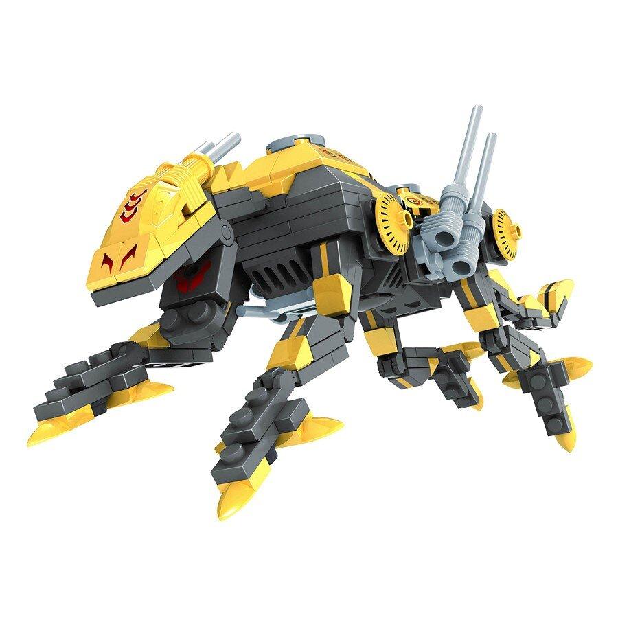 Đồ chơi lắp ráp Ausini - Robot anh hùng - Siêu thú giáp sắt 25473 (190 mảnh ghép)