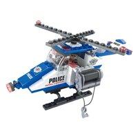 Đồ chơi lắp ráp Ausini - Sở cảnh sát - Trực thăng cảnh sát 23401 (126 mảnh ghép)