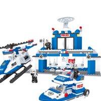Đồ chơi lắp ráp Ausini - sở cảnh sát - trạm cảnh sát 23702 (422 mảnh ghép)