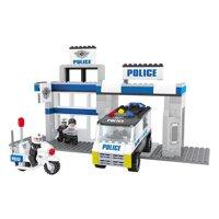 Đồ chơi lắp ráp Ausini - sở cảnh sát - đồn cảnh sát 23603 (286 mảnh ghép)
