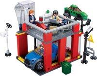 Đồ chơi lắp ráp cửa hàng bảo dưỡng ô tô Tinitoy YY741986
