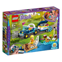 Đồ chơi lắp ráp Lego Friends - Xe dã ngoại kèm Vali kéo của Stephanie 41364