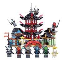 Đồ chơi lắp ráp Lego NinjaGo Đền airjitzu - LEDUO 76013