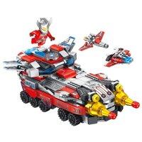 Đồ chơi lắp ráp Lego siêu nhân Ultraman Panlos Brick 690012