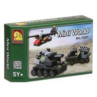 Đồ Chơi Lắp Ráp Oxford - Mini World MW3313