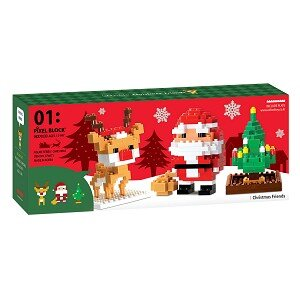Đồ Chơi Lắp Ráp Oxford - Pixel Christmas Friends CF4071