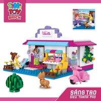 Đồ chơi lắp ráp quán cà phê Tinitoy YY590667 - 226 mảnh
