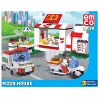 Đồ chơi lắp ráp Tiệm Pizza Emco 8815
