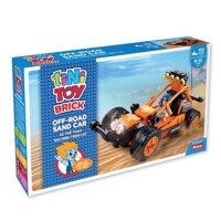 Đồ chơi lắp ráp xe thể thao địa hình trên cát Tinitoy YY697631 - 113 mảnh
