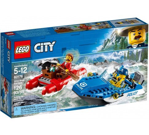 Đồ chơi Lego 60176 – Ca nô cảnh sát bắt cướp