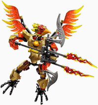 Đồ chơi LEGO 70211 - Chiến Binh Lửa Fluminox