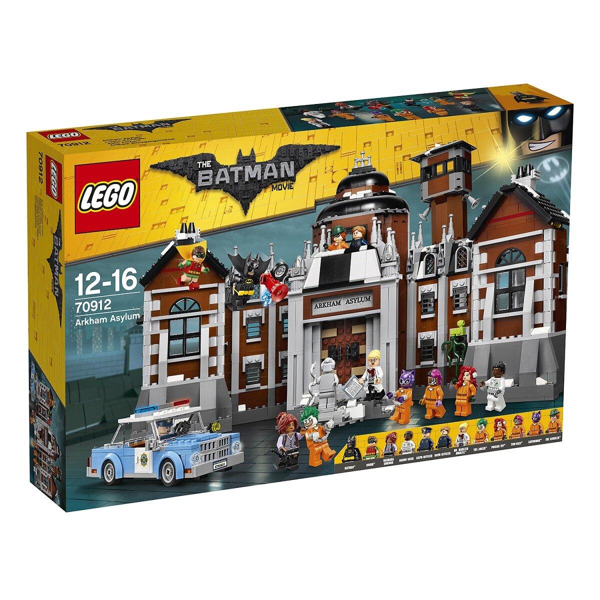 Đồ chơi LEGO Batman Movie Bệnh Viện Thần Kinh Arkham Asylum 70912 (1628 Mảnh)