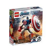 Đồ chơi Lego Chiến Giáp Captain America 76168