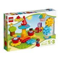 Đồ chơi Lego Duplo - Vòng xoay đầu tiên của bé 10845 (24 chi tiết)