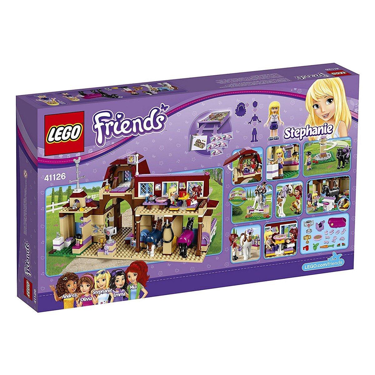 Đồ chơi LEGO Friends - câu lạc bộ cưỡi ngựa 41126 (575 Mảnh Ghép)