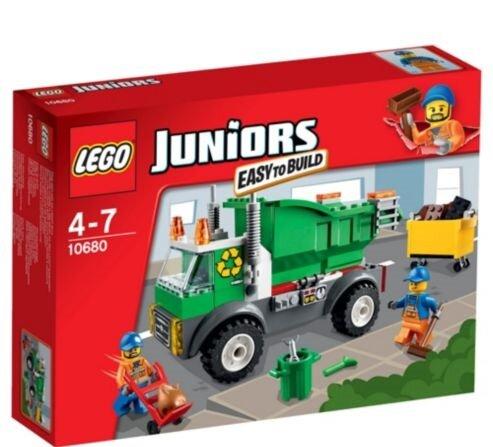 Đồ Chơi Lego Juniors 10680 - Xe Rác