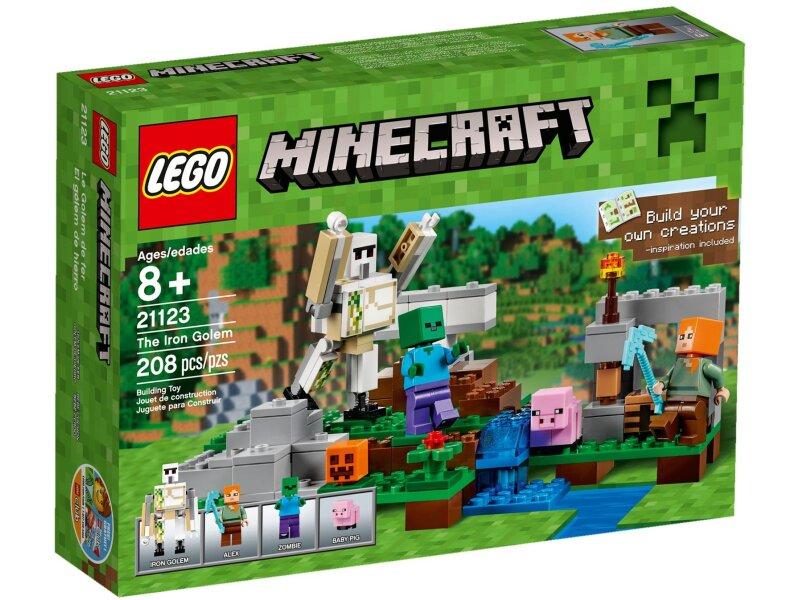 Đồ chơi Lego Minecraft 21123 - Hộ Vệ Sắt Golem