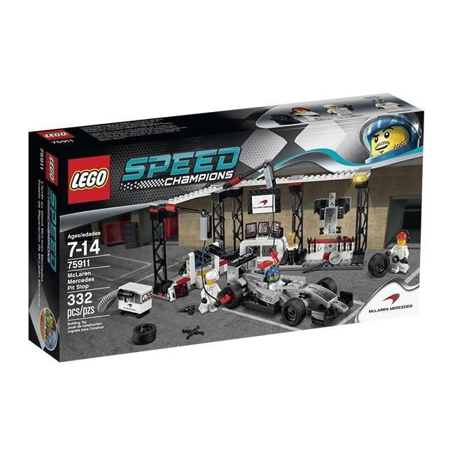 Đồ chơi LEGO Speed Champions - Trạm dừng McLaren Mercedes 75911