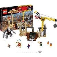 Đồ Chơi Lego Super Heroes 76037 - Liên Minh Quái Vật Rhino Và Người Cát