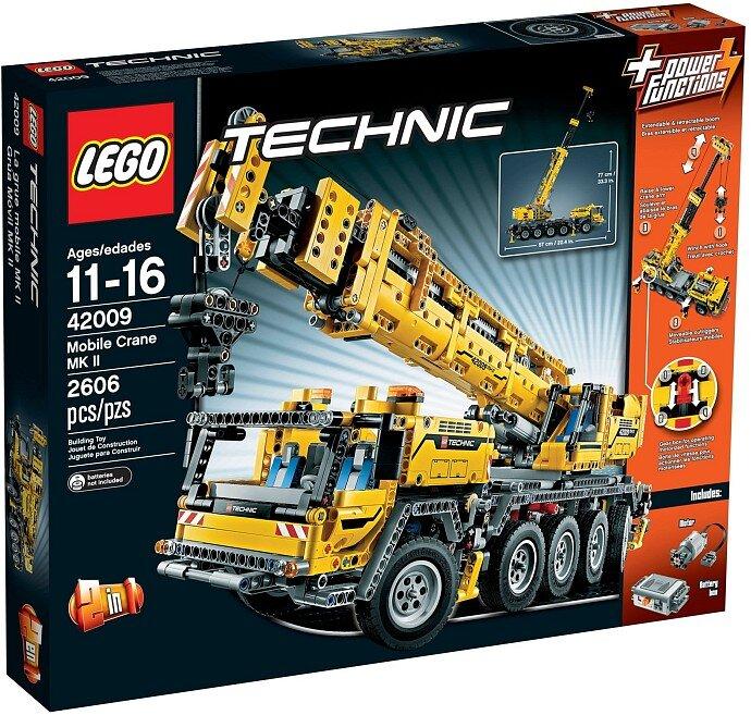 Đồ Chơi Lego Technic 42009 - Xe cần trục vận hành