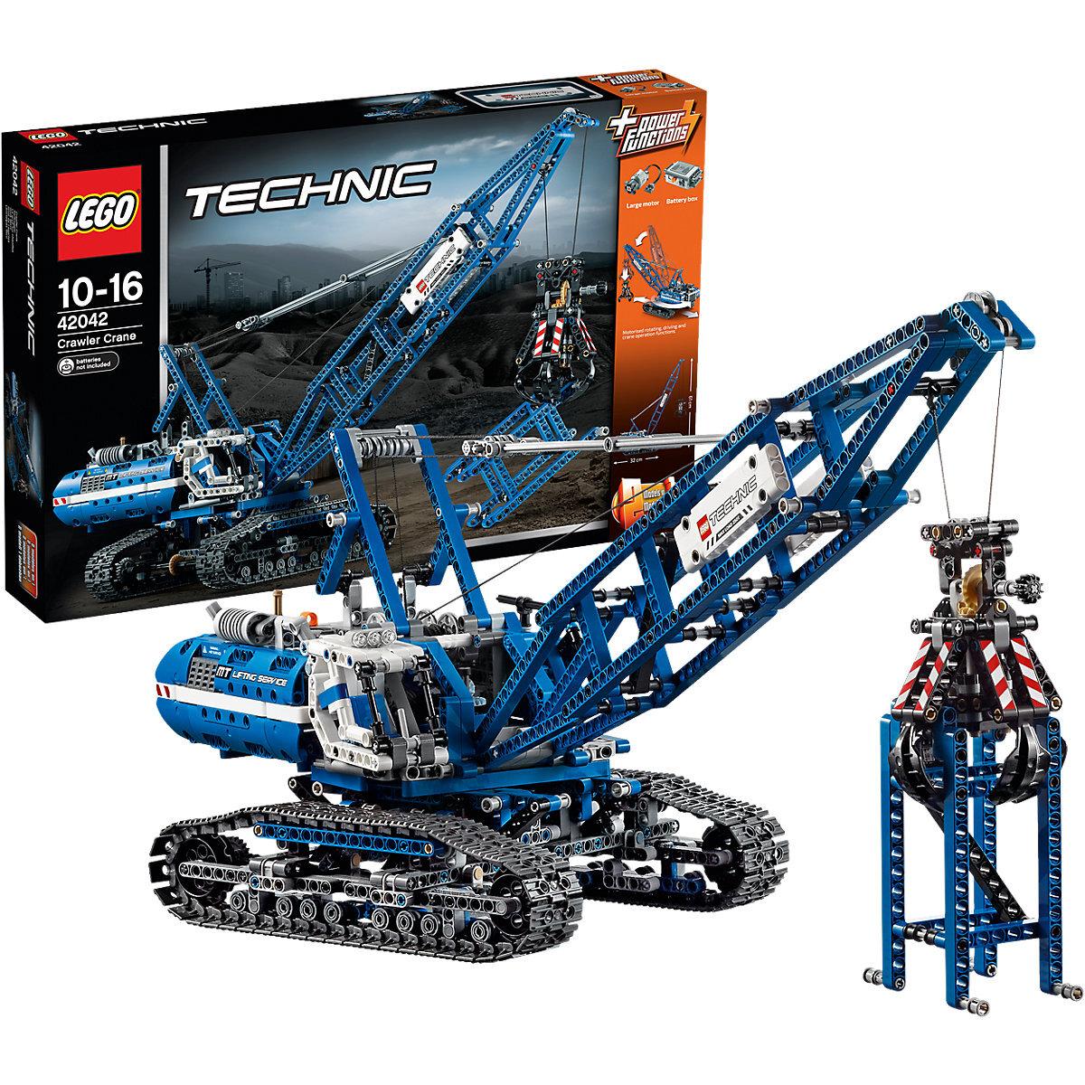 Đồ Chơi Lego Technic 42042 Cần Cẩu Bánh Xích