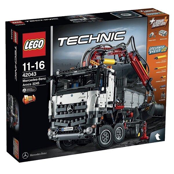 Đồ Chơi Lego Technic 42043 - Xe Đa Năng Mercedes Benz Arocs 3245