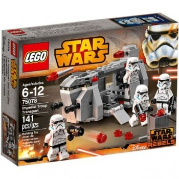 Đồ chơi Lego Vận chuyển quân đội hoàng gia 75078
