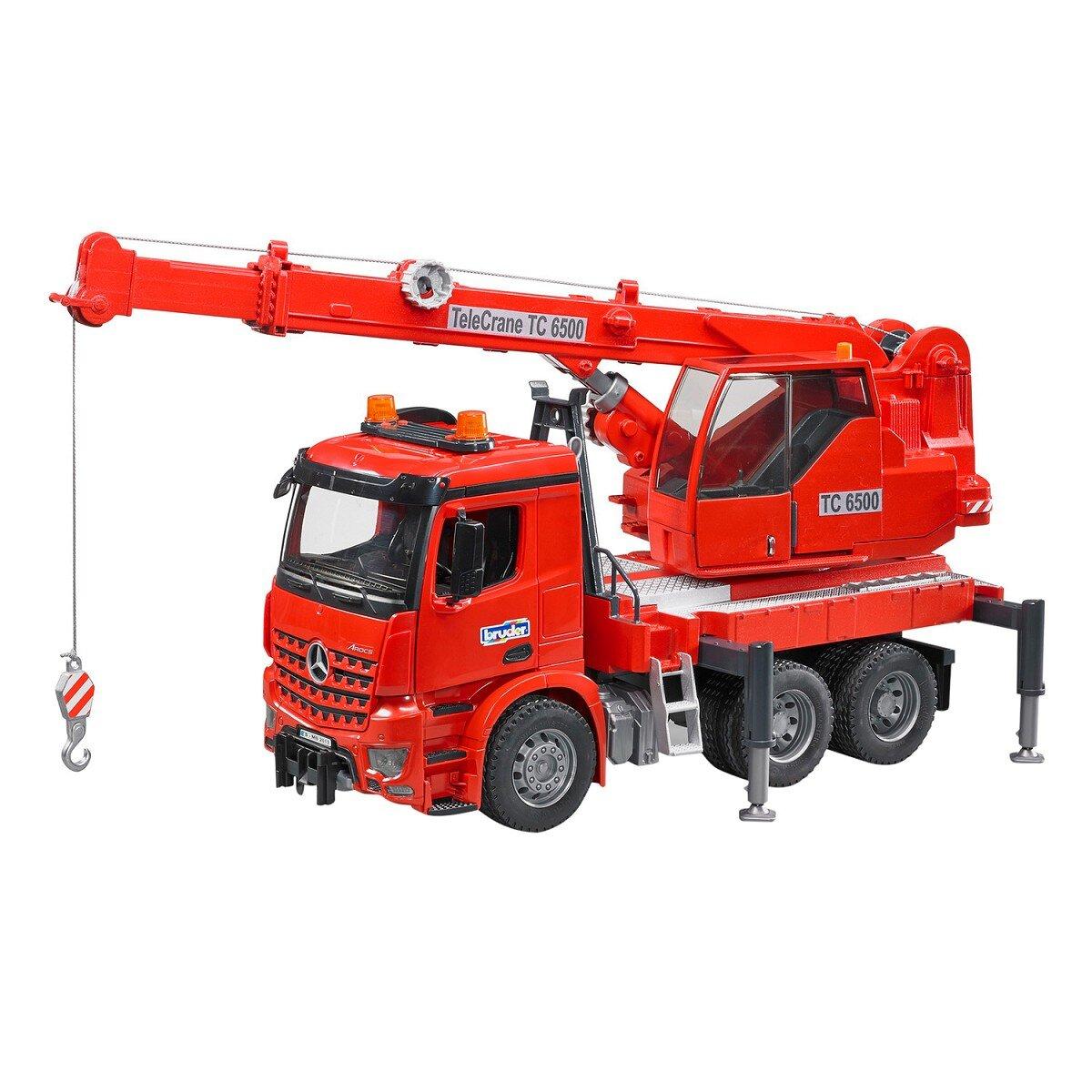 Đồ chơi mô hình Bruder - Xe tải cần Bruder BRU03670