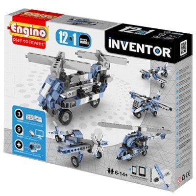 Đồ chơi mô hình Engino Inventor - Máy Bay M12 1233
