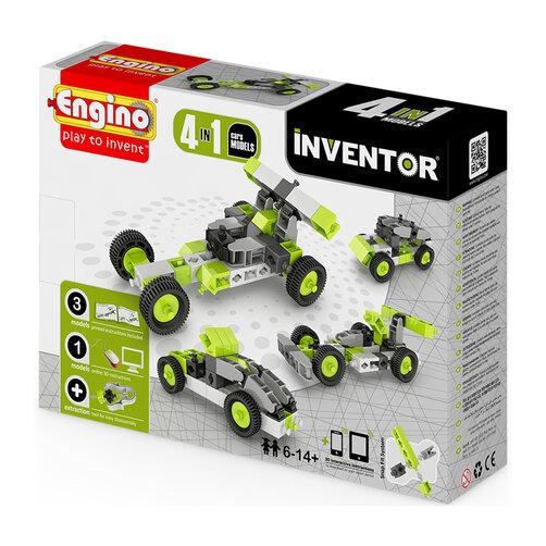 Đồ chơi Mô hình Engino Inventor - Ô tô M4 0431