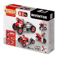 Đồ chơi mô Hình Engino Inventor - Xe Mô tô M4 0432