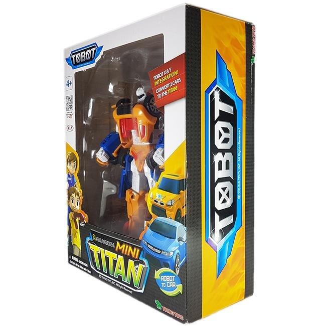 Đồ chơi mô hình lắp ráp TOBOT Mini Titan 301055