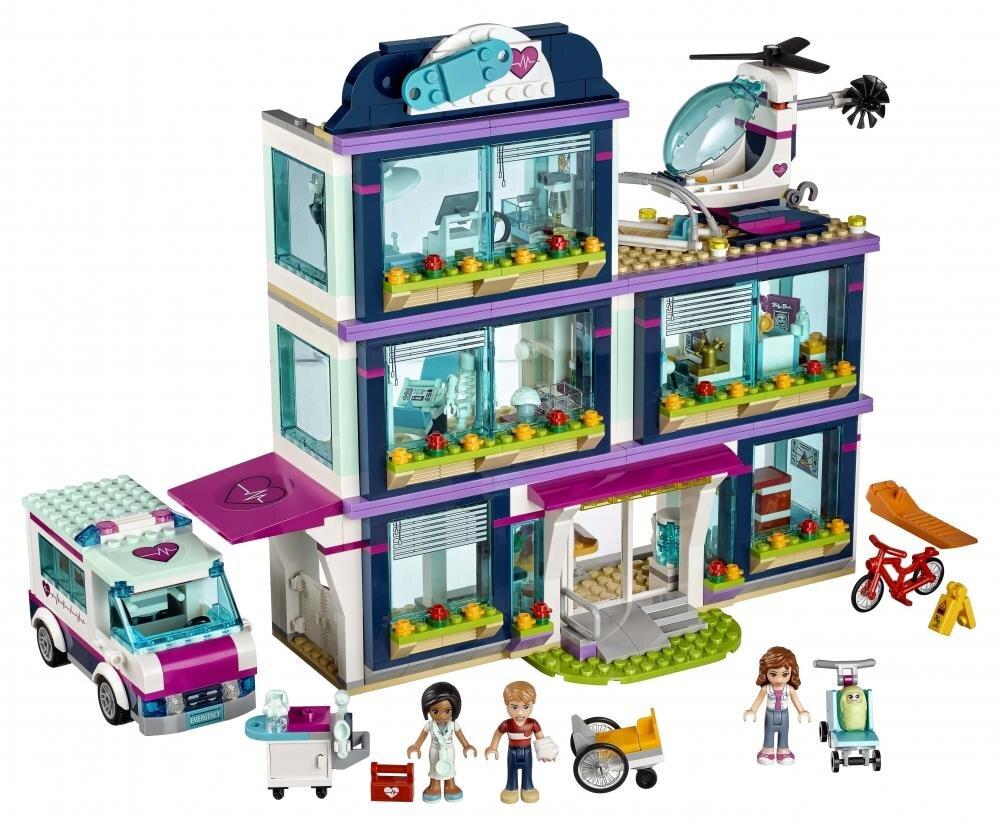 Đồ chơi mô hình Lego - Bệnh viện Heartlake 41318 (871 chi tiết)