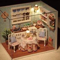 Đồ chơi mô hình nhà gỗ DIY - Happy kitchen