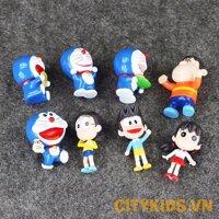 Đồ chơi mô hình nhân vật đồ chơi Doremon - Nobita và những người bạn