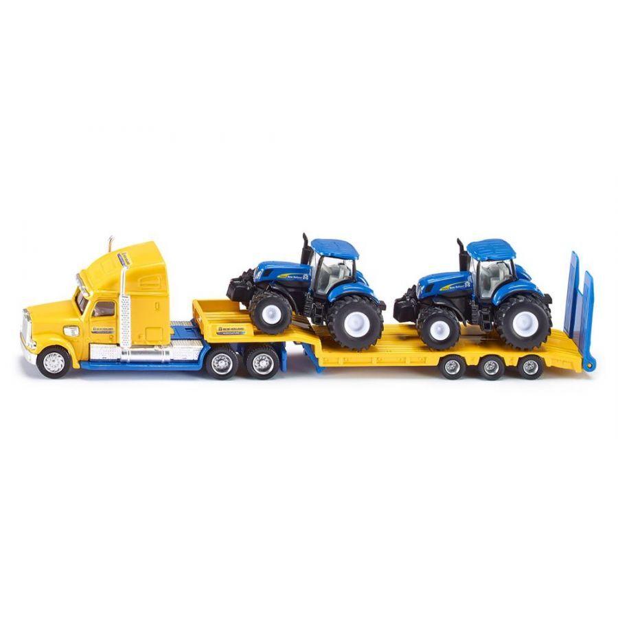 Đồ chơi Mô hình Siku Xe tải kéo 2 đầu xe nông nghiệp 1805