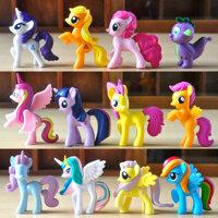 Đồ chơi ngựa Pony thiên thần (Set 12 con)