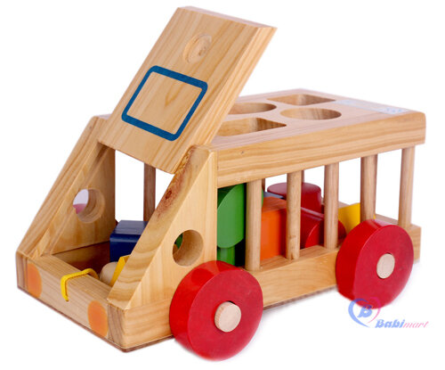 Đồ chơi ô tô gỗ Goldcat
