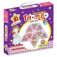 Đồ chơi phát triển IQ Triomino Cảm xúc Fun IQ PT14- Phan Thị (từ 3 tuổi trở lên)