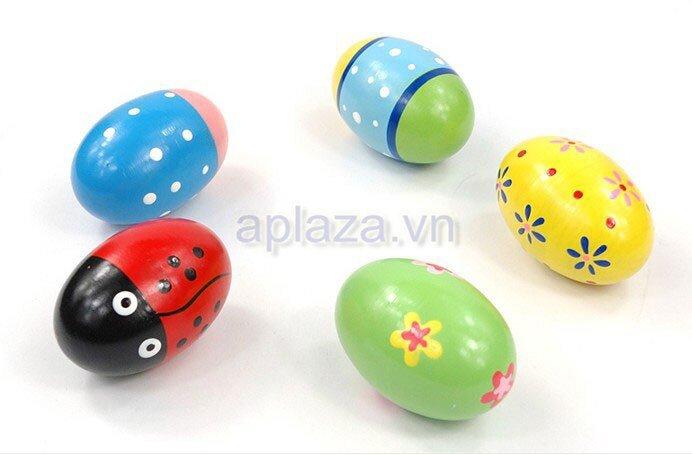 Đồ chơi quả trứng gỗ DG1-002