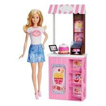 Đồ chơi quầy bán hàng lưu động Barbie DMC35