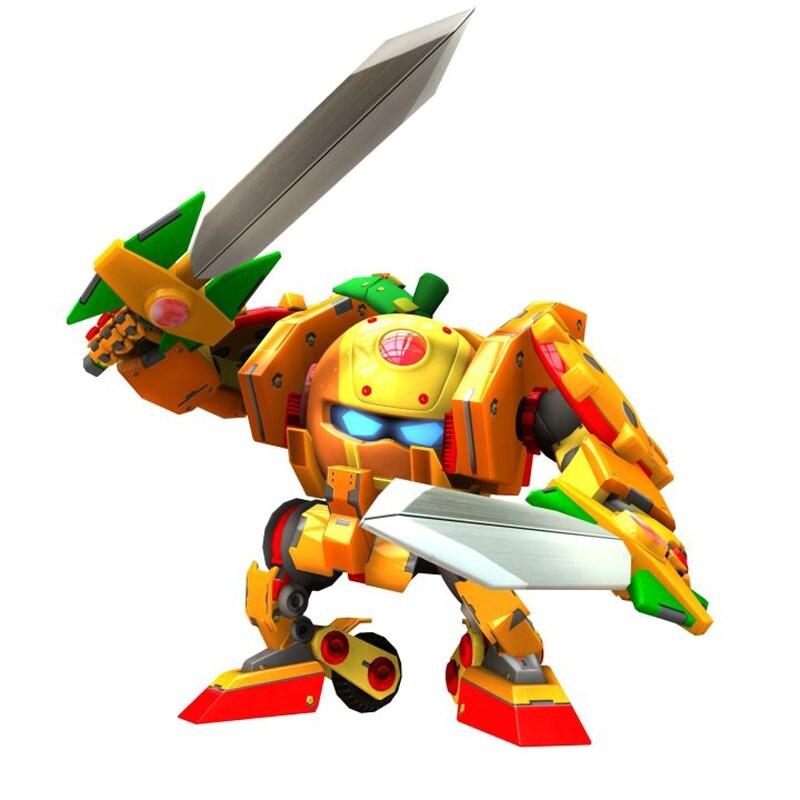 Đồ chơi Robo trái cây Quýt kiếm sĩ – Dòng chuẩn