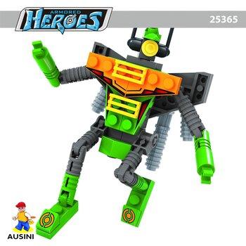 Đồ chơi Robot anh hùng Ausini 25365 (71 miếng)