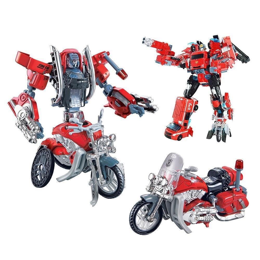 Đồ Chơi Robot Biến hình Hitomi xe máy J8015A
