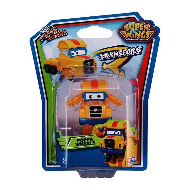 Đồ chơi robot biến hình máy bay mini Super Wings - Poppa Khổng Lồ YW720025